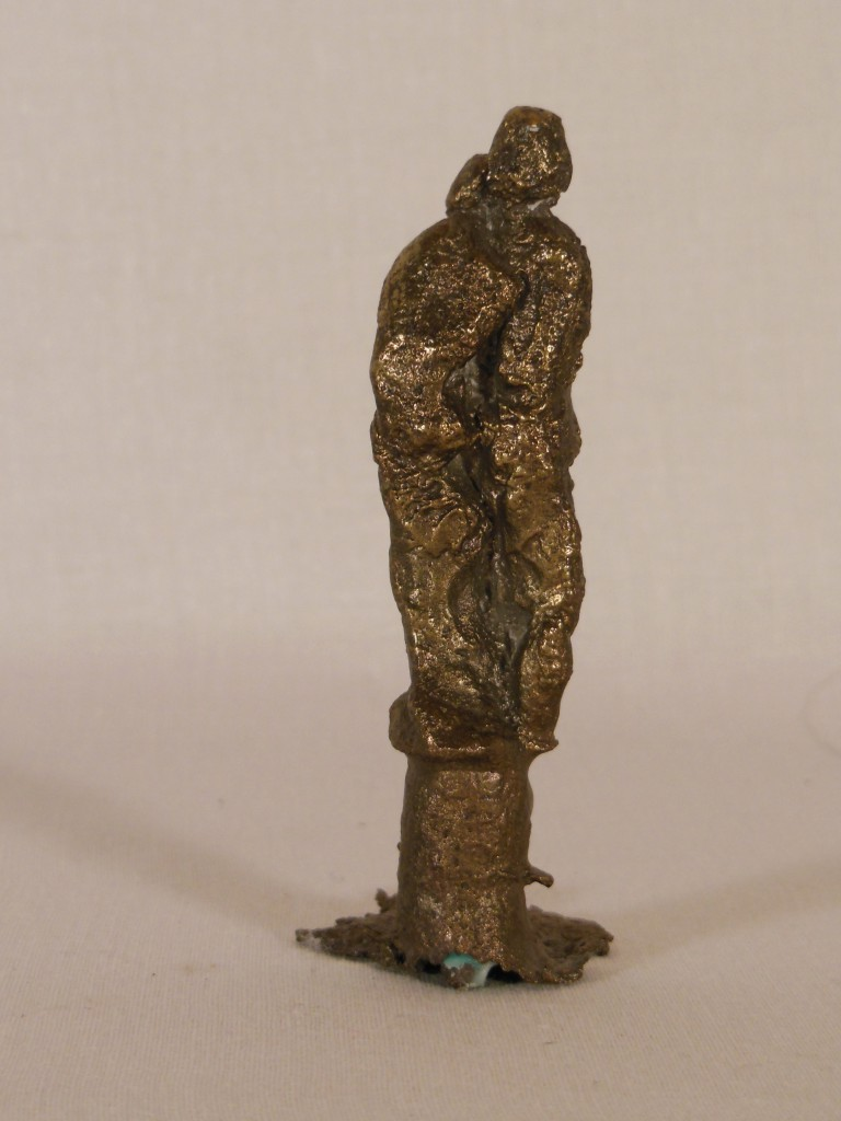 Sculpture bronze couple